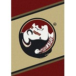 "Milliken College Team Spirit (NCAA) Florida State 74208 Spirit Rectangle (4000019087) 3'10"" x 5'4"" Area Rug"