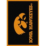 "Milliken College Team Spirit (NCAA) Iowa 74218 Spirit Rectangle (4000019444) 2'8"" x 3'10"" Area Rug"