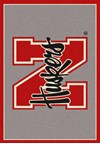 Milliken College Team Spirit (NCAA) Nebraska 74239 Spirit Rectangle (4000019452) 2'8
