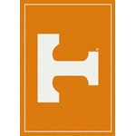 "Milliken College Team Spirit (NCAA) Tennessee 74365 Spirit Rectangle (4000019104) 3'10"" x 5'4"" Area Rug"