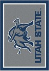 Milliken College Team Spirit (NCAA) Utah State 74382 Spirit Rectangle (4000019233) 5'4