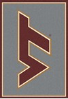 Milliken College Team Spirit (NCAA) Virginia Tech 74159 Spirit Rectangle (4000019071) 3'10