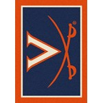 "Milliken College Team Spirit (NCAA-SPT) Virginia 79590 Spirit Rectangle (4000054437) 5'4"" x 7'8"" Area Rug"