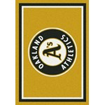 "Milliken MLB Team Spirit (MLB-S) Oakland Athletics 01026 Spirit Rectangle (4000054887) 2'8"" x 3'10"" Area Rug"