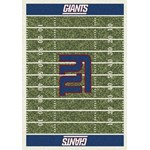 "Milliken NFL Team Home Field (NFL-F) New York Giants 01063 Home Field Rectangle (4000019901) 10'9"" x 13'2"" Area Rug"