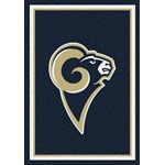 "Milliken NFL Team Spirit (NFL-S) St. Louis Rams 00986 Spirit Rectangle (4000095987) 10'9"" x 13'2"" Area Rug"