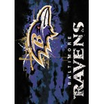 "Milliken NFL Team Fade (NFL-Fade) Baltimore Ravens 02908 Fade Rectangle (4000107030) 3'10"" x 5'4"" Area Rug"