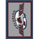 "Milliken NHL Team Spirit (NHL-S) Colorado Avalanche 01071 Spirit Rectangle (4000020372) 2'8"" x 3'10"" Area Rug"
