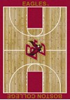Milliken College Home Court (NCAA) Boston College 01043 Court Rectangle (4000018283) 3'10