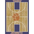 Milliken College Home Court (NCAA) Clemson 01050 Court Rectangle (4000018371) 5