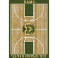 Milliken College Home Court (NCAA) Colorado State 01065 Court Rectangle (4000018373) 5