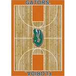 "Milliken College Home Court (NCAA) Florida 01500 Court Rectangle (4000018442) 5'4"" x 7'8"" Area Rug"