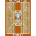 Milliken College Home Court (NCAA) Illinois 01113 Court Rectangle (4000018382) 5