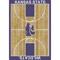 Milliken College Home Court (NCAA) Kansas State 01125 Court Rectangle (4000018300) 3