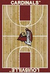 Milliken College Home Court (NCAA) Louisville 01150 Court Rectangle (4000018387) 5'4