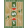 Milliken College Home Court (NCAA) Michigan State 01180 Court Rectangle (4000018310) 3
