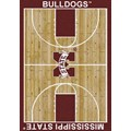 Milliken College Home Court (NCAA) Mississippi State 01188 Court Rectangle (4000018398) 5
