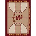 Milliken College Home Court (NCAA) Southern California 01370 Court Rectangle (4000018416) 5