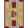 Milliken College Home Court (NCAA) Southern Methodist 01390 Court Rectangle (4000018420) 5