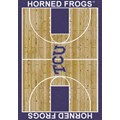 Milliken College Home Court (NCAA) Texas Christian 01430 Court Rectangle (4000018427) 5