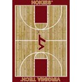 Milliken College Home Court (NCAA) Virginia Tech 01460 Court Rectangle (4000018435) 5