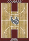 Milliken College Home Court (NCAA) Washington State 01466 Court Rectangle (4000018353) 3'10