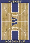 Milliken College Home Court (NCAA) Washington 01464 Court Rectangle (4000018437) 5'4