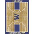 Milliken College Home Court (NCAA) Washington 01464 Court Rectangle (4000018437) 5