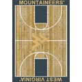 Milliken College Home Court (NCAA) West Virginia 01470 Court Rectangle (4000018439) 5