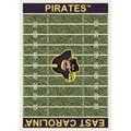 Milliken College Home Field (NCAA) East Carolina 01068 Home Field Rectangle (4000018619) 7