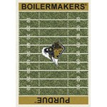 "Milliken College Home Field (NCAA) Purdue 01345 Home Field Rectangle (4000018723) 10'9"" x 13'2"" Area Rug"