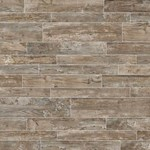 "Daltile Season Wood: Orchard Grey 12"" x 48"" Porcelain Tile SW01-12481P"