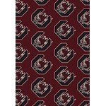 "Milliken College Repeating (NCAA) South Carolina 01350 Repeat Rectangle (4000018796) 3'10"" x 5'4"" Area Rug"