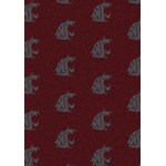 "Milliken College Repeating (NCAA) Washington State 01466 Repeat Rectangle (4000018812) 3'10"" x 5'4"" Area Rug"