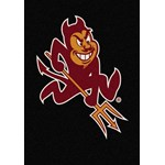 "Milliken College Team Spirit (NCAA) Arizona State 79540 Spirit Rectangle (4000019267) 5'4"" x 7'8"" Area Rug"