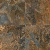 Armstrong Alterna Allegheny Slate: Copper Mountain Luxury Vinyl Tile D4332