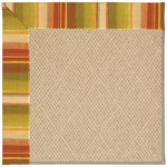 Capel Rugs Creative Concepts Cane Wicker - Kalani Samba (224) Octagon 4' x 4' Area Rug