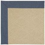 Capel Rugs Creative Concepts Cane Wicker - Heritage Denim (447) Octagon 4' x 4' Area Rug