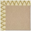 Capel Rugs Creative Concepts Cane Wicker - Bamboo Rattan (706) Octagon 4