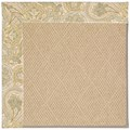 Capel Rugs Creative Concepts Cane Wicker - Paddock Shawl Mineral (310) Octagon 6