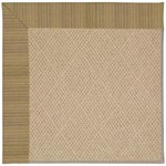 Capel Rugs Creative Concepts Cane Wicker - Vierra Onyx (345) Octagon 6' x 6' Area Rug