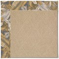 Capel Rugs Creative Concepts Cane Wicker - Bahamian Breeze Ocean (420) Octagon 6