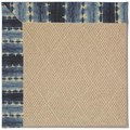 Capel Rugs Creative Concepts Cane Wicker - Java Journey Indigo (460) Octagon 6