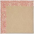 Capel Rugs Creative Concepts Cane Wicker - Imogen Cherry (520) Octagon 6