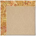 Capel Rugs Creative Concepts Cane Wicker - Tuscan Vine Adobe (830) Octagon 6