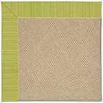 Capel Rugs Creative Concepts Cane Wicker - Vierra Kiwi (228) Octagon 8' x 8' Area Rug