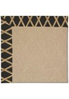 Capel Rugs Creative Concepts Cane Wicker - Bamboo Coal (356) Octagon 8' x 8' Area Rug