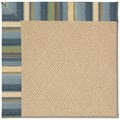 Capel Rugs Creative Concepts Cane Wicker - Kalani Ocean (417) Octagon 8