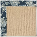 Capel Rugs Creative Concepts Cane Wicker - Bandana Indigo (465) Octagon 8' x 8' Area Rug