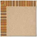 Capel Rugs Creative Concepts Cane Wicker - Vera Cruz Samba (735) Octagon 8